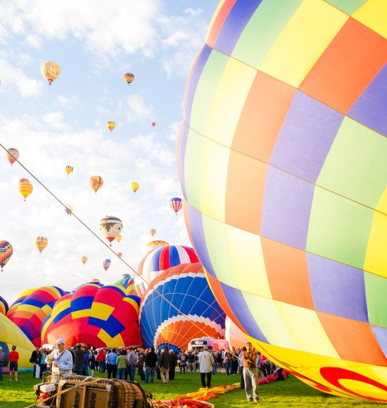 2015 Balloon Fiesta Expedition - Cecy Rivera - ascension
