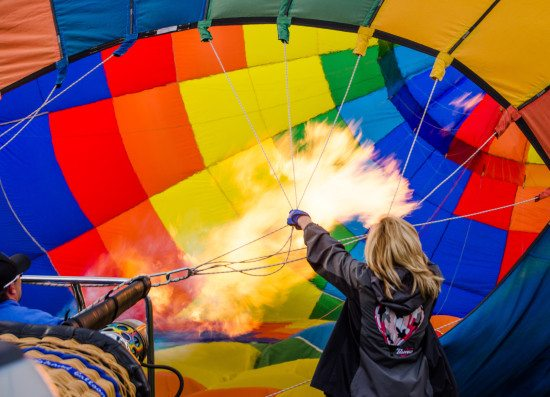 2015 Balloon Fiesta Expedition - Cecy Rivera - Fire