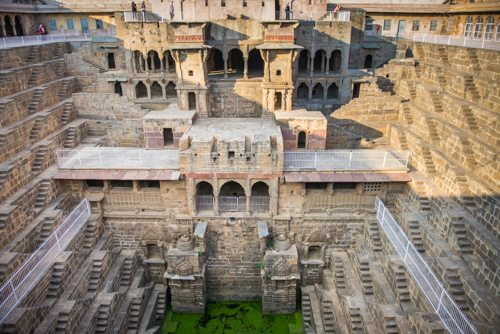 "India Travel Writing Expedition - ""step wells"" in Rajasthan"