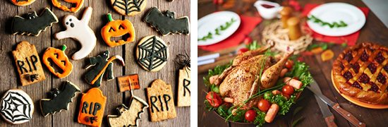 Holiday food stock photos