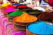 Alamy stock photo of a market in Peru