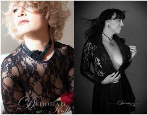 Deborah Kolb enjoys taking boudoir style photographs