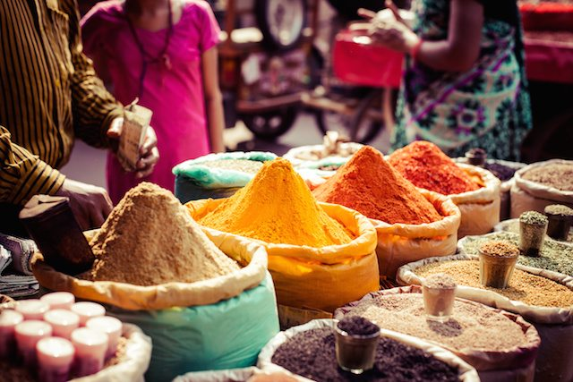Great Escape Publishing's India Travel Writing Expedition - spices