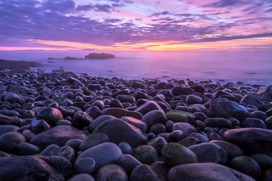 Coast of Maine beach photo