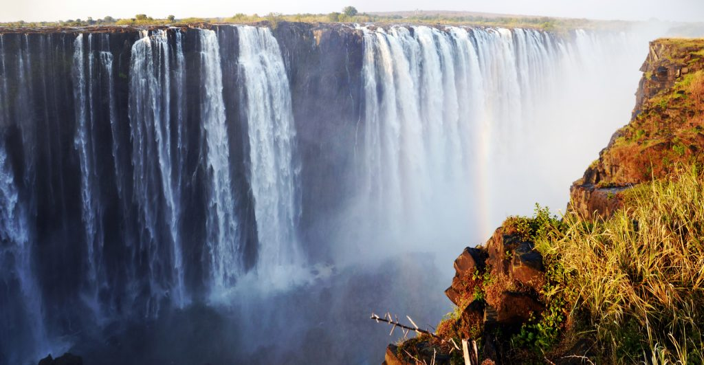 Victoria Falls in Chobe National Park in northern Botswana