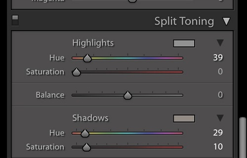 LIghtroom has the tools to help you add warmth to dull images