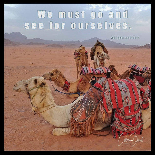 Adding quotes to your photos can help you sell travel images...