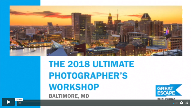 Lori's First On-Stage Presentation at The 2018 Ultimate Photographer's Workshop in Baltimore, MD