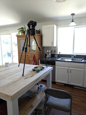 Photographing current trends can be done in your own kitchen...