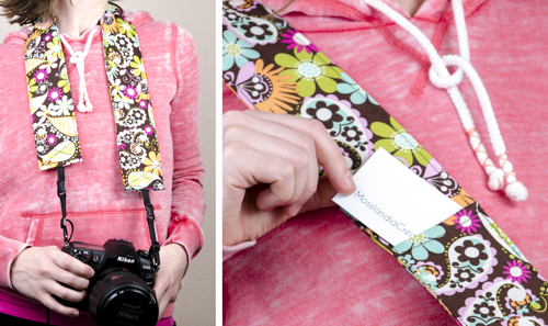 Camera strap gift for photographers